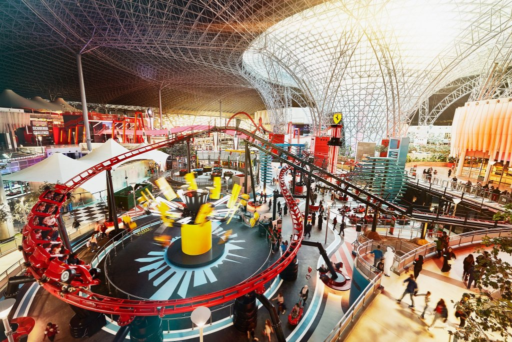 Family Zone at Ferrari World