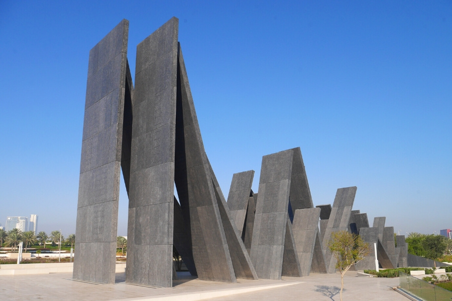 Wahat al Karama memorial in Abu Dhabi