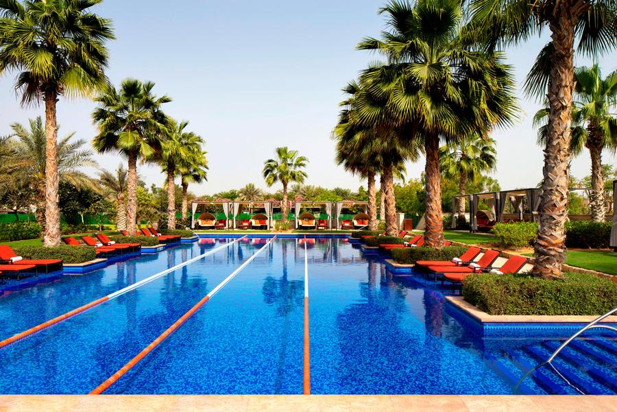 lap pool at Westin Abu Dhabi