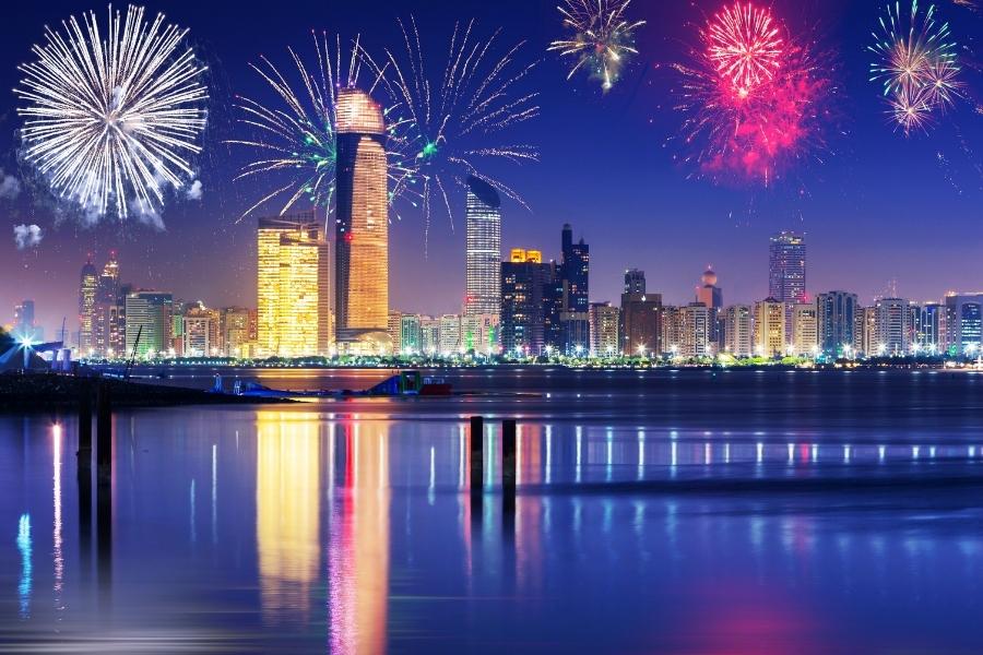 Abu Dhabi Travel Planner New Year Fireworks