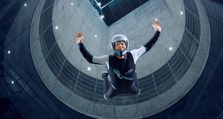 CLYMB Indoor Sky Diving