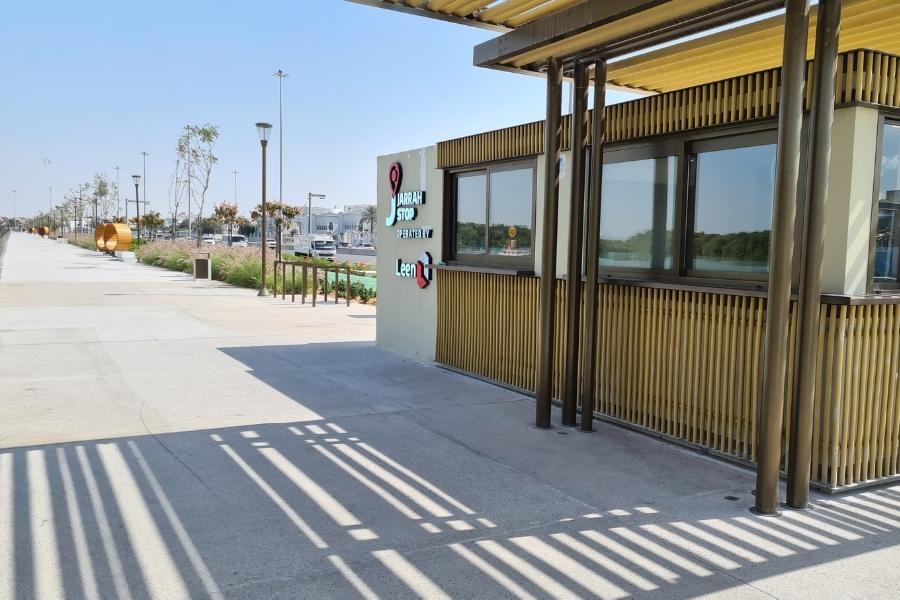Jarrah Cafe along Al Gurm Corniche