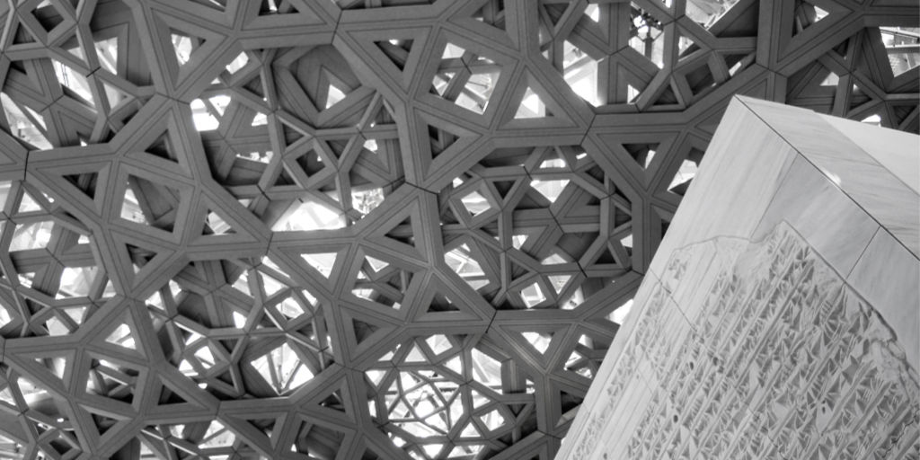 Roof of the Louvre Abu Dhabi