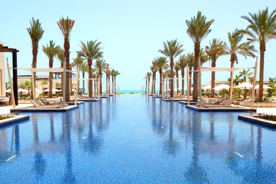 beautiful luxury resort on Saadiyat Island, Abu Dhabi