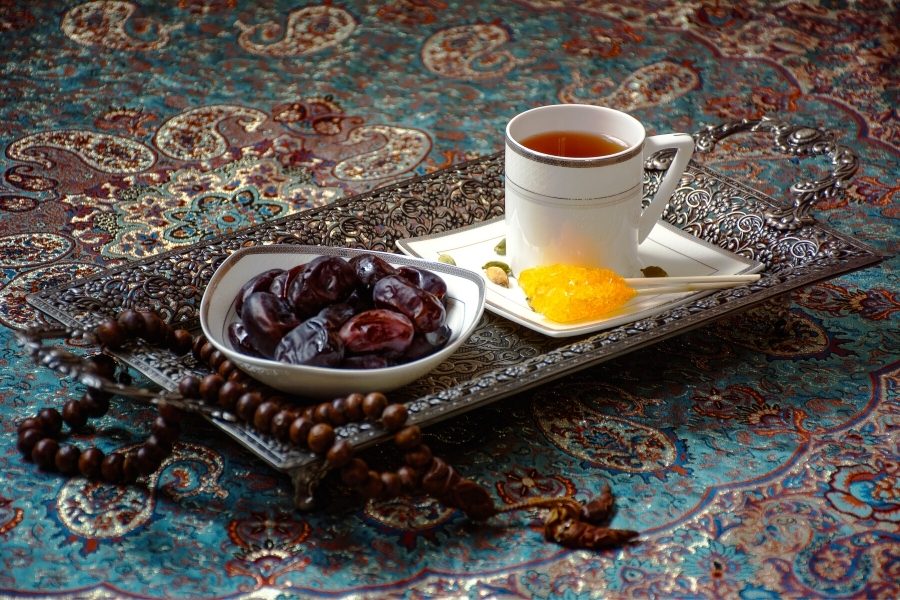 A plate for Iftar